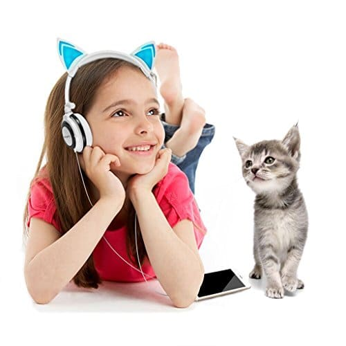 casque audio oreilles de chat