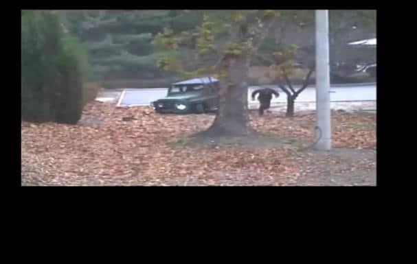 La vidéo de l'évasion d'un soldat Nord Coréen