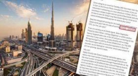 job de rêve Dubaï