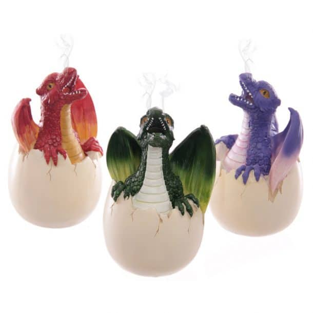oeuf dragon encens