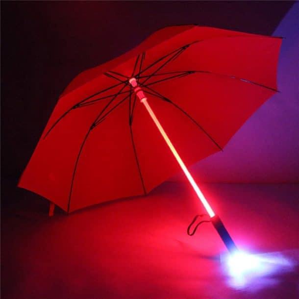 parapluie led