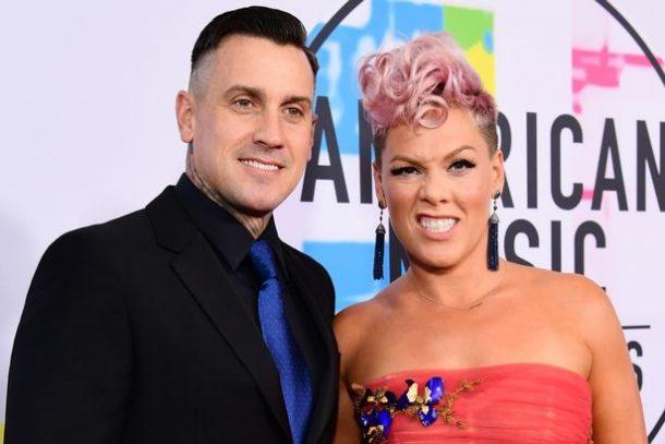 pink et son mari