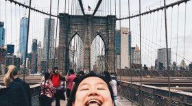 selfie chinning