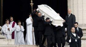 johnny hallyday cercueil