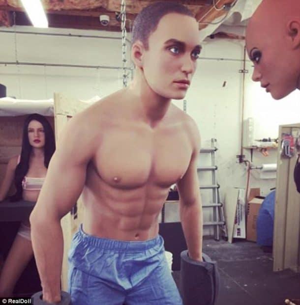 robot sexuel masculin