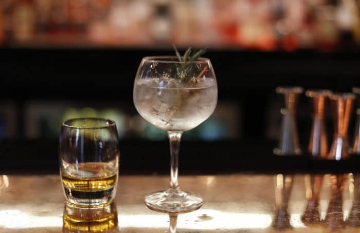 cocktails au gin