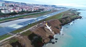 turquie boeing atterissage rate