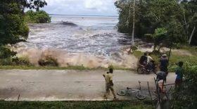 tsunami indonésie