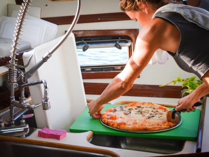 pizzeria sur l'eau