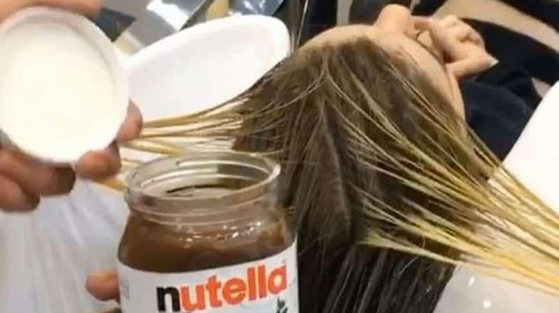 Ce salon de coiffure propose une coloration au nutella for Salon de coiffure dubai