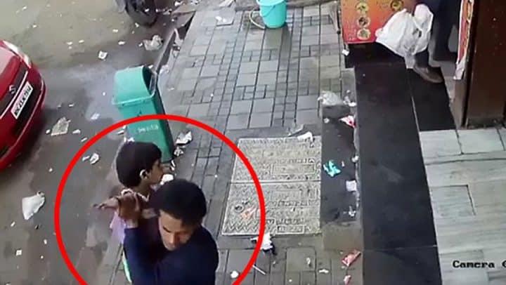 kidnapping en pleine rue