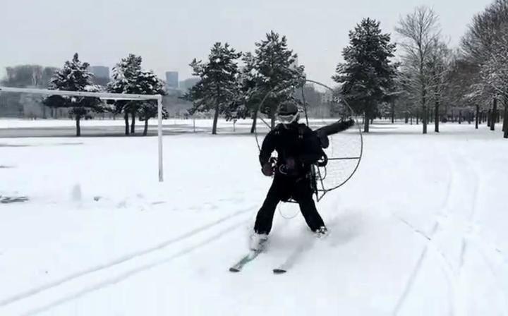 ski paramoteur