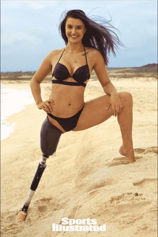 Brenna Huckaby athlète paralympique