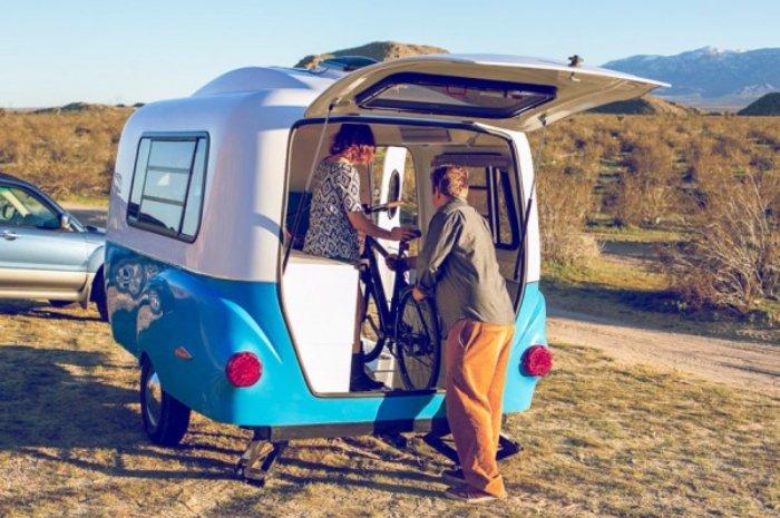 D 233 Couvrez La Mini Caravane Modulable Et Super Pratique