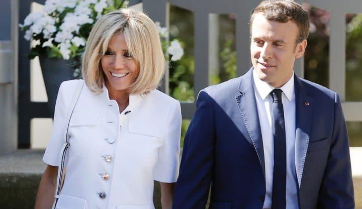 Brigitte Macron a osé le décolleté plongeant à l'Élysée, qui a fait son petit effet devant des invités prestigieux