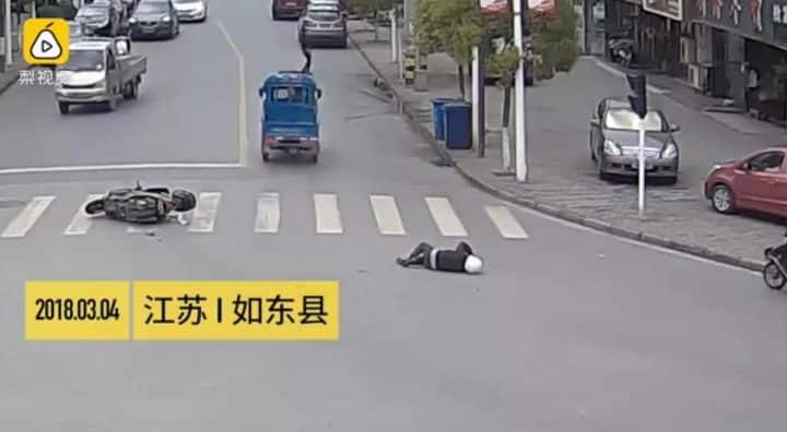 accident triporteur