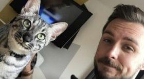 il croise son chat à un km de chez lui, la réaction de l'animal est à mourir de rire