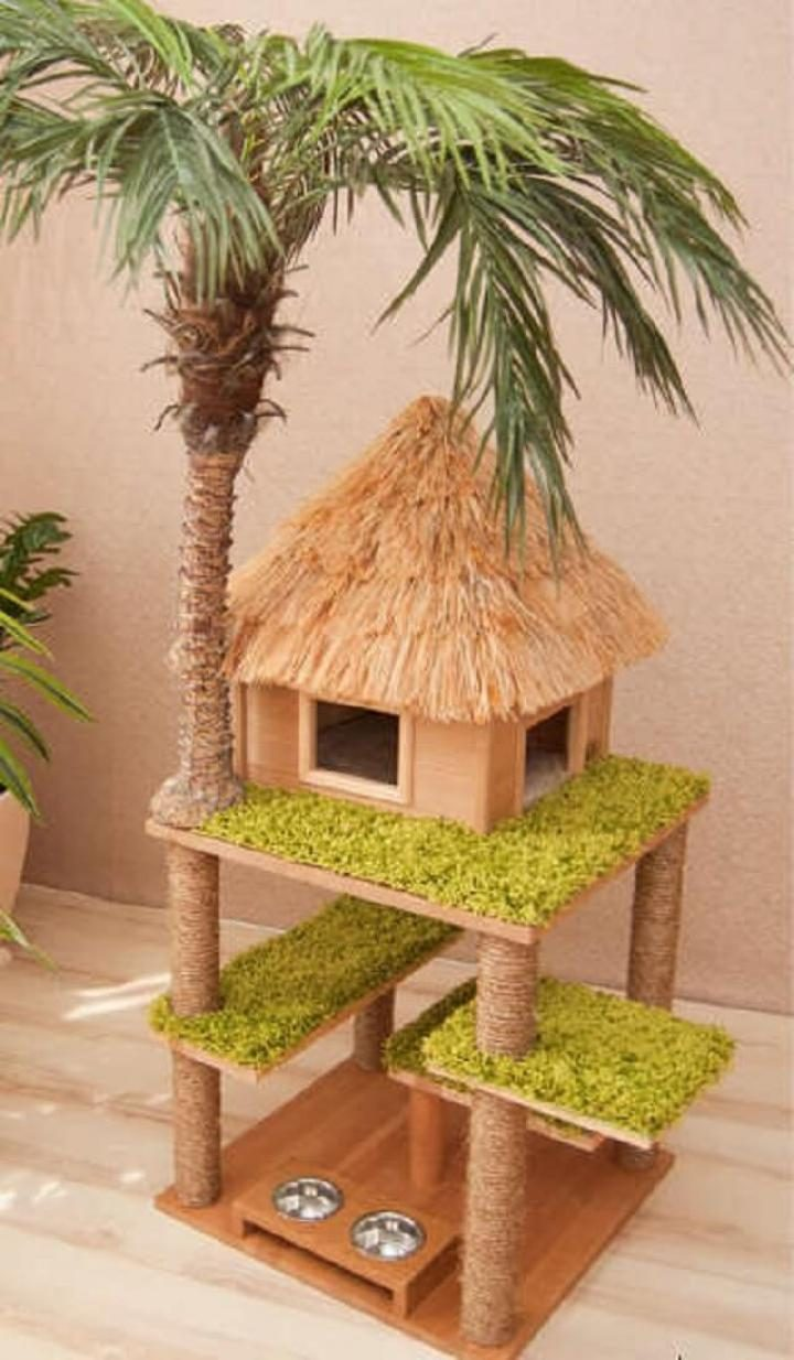Arbre A Chat A Faire Maison 10 des arbres à chat inspirés de la nature qui sublimeront
