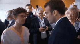 Macron, CHU de Rouen