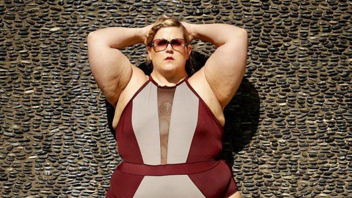 mannequin grande taille obèse en colère isntagram