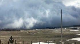 nuage comme un tsunami