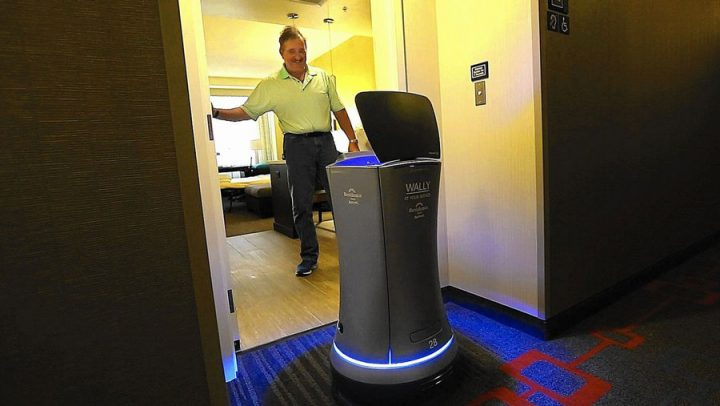 archie room service robot