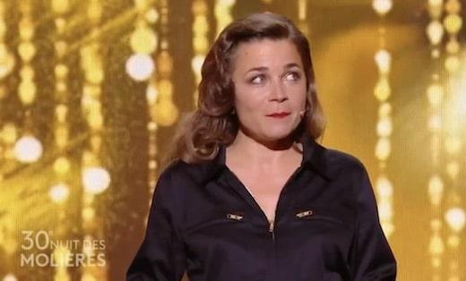 Blanche Gardin a révolutionné les remises de prix aux Molières, en remettant le trophée de l'humour...à elle-même !