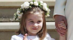 La Princesse Charlotte a mené tout le monde à la baguette lors du mariage du Prince Harry et de Meghan Markle