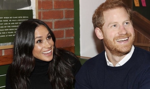 Une photo non officielle de Meghan Markle et du Prince Harry affole les Britanniques !