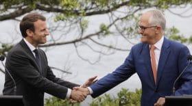 Emmanuel Macron fait un lapsus coquin et devient la risée des Australiens