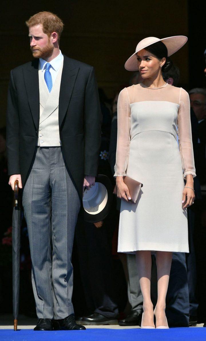 Harry de la maison Windsor et sa femme