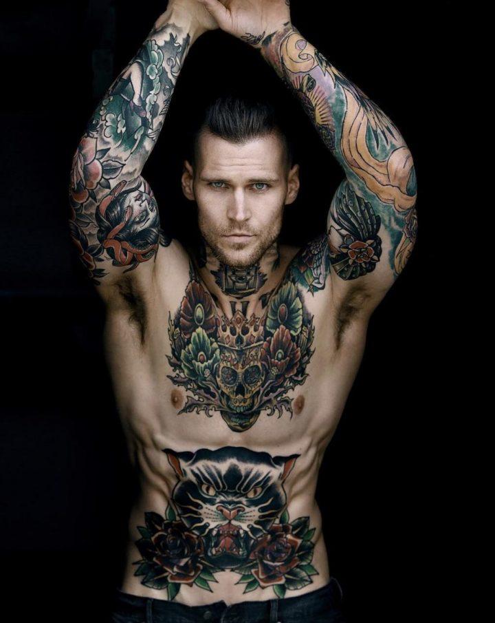Marshall perrin tatouages