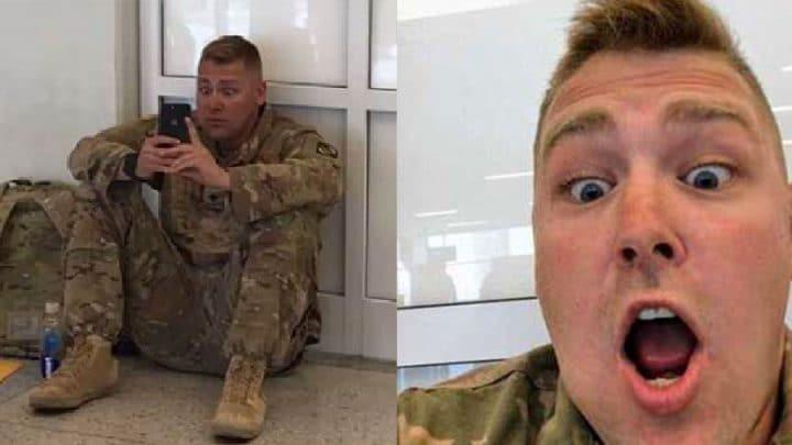soldat accouchement facetime