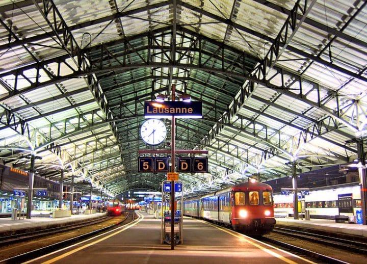 train, colère, écrasé, accident, mort nulle, Suisse, gare