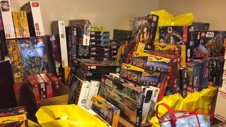 collection de lego volés