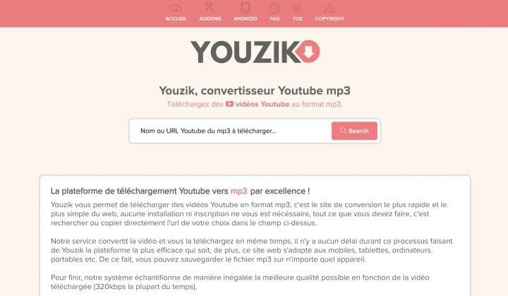 Télécharger facilement et gratuitement des vidéos YouTube en mp3