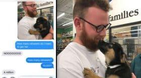 adoption bebe chien