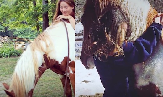elle sauve un cheval de l'abattoir, ils deviennent les meilleurs amis du monde