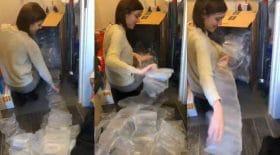 sachets en plastique amazon gaspillage