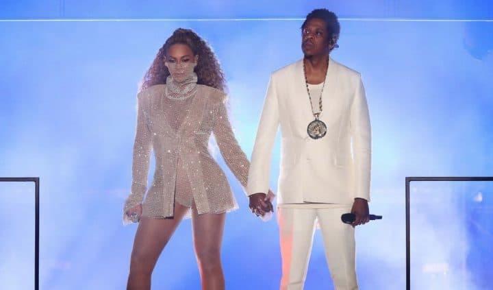 Promo intime : les photos dénudées de Beyoncé et Jay Z