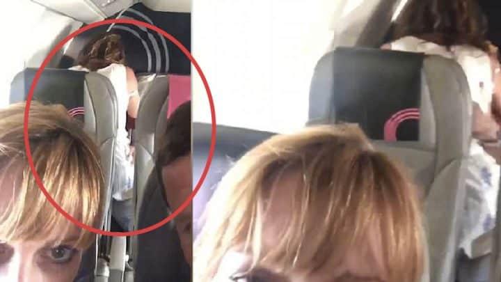 couple fait l'amour dans un avion