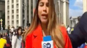 journaliste, journaliste sportive, agression sexuelle, supporter, sport, foot, Coupe du monde, Julieth Gonzalez Theran, embrasser, poitrine