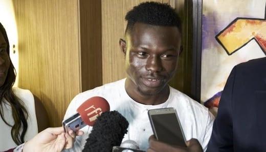 Mamoudou Gassama récompensé aux États-unis