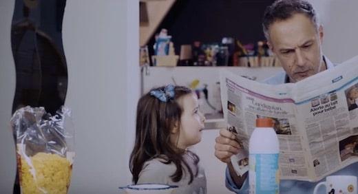 La nouvelle campagne PETa parodie une célèbre publicité des années 1990