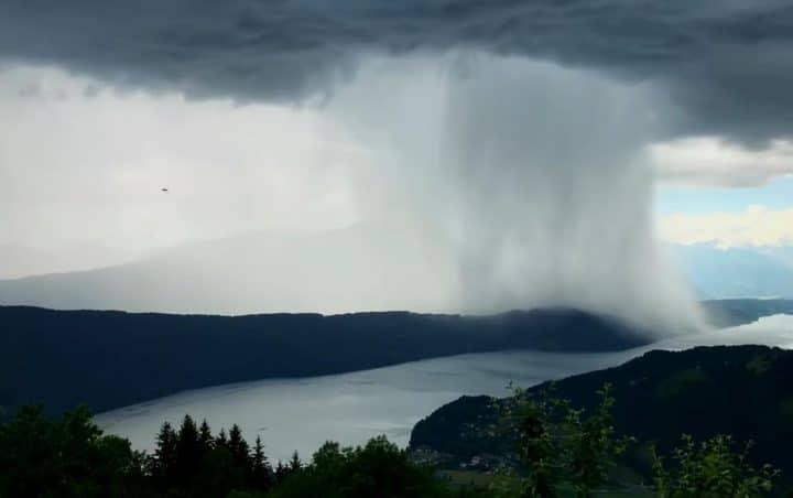 colonne de pluie
