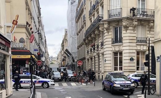 prise d'otages à Paris X