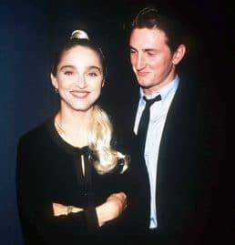 Sean Penne et Madonna