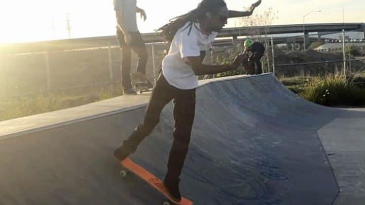 aveugle skateboard