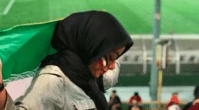 supporter iranienne