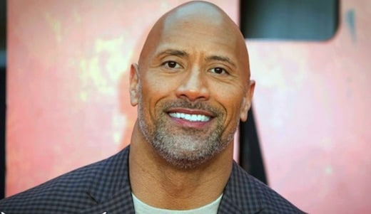 """Cette photo de Dwayne """"The Rock"""" Johnson fait polémique sur la Toile"""